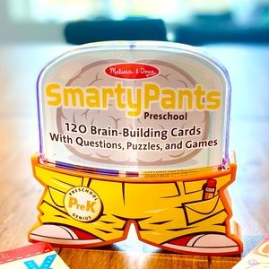 2x Pre-K Learning Q&A Cards - Smarty Pants (Melissa and Doug), & Brain Quest ⭐️